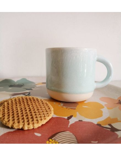 STUDIO ARHOJ chug mug tasse café thé céramique scandinave design danois vert menthe douce