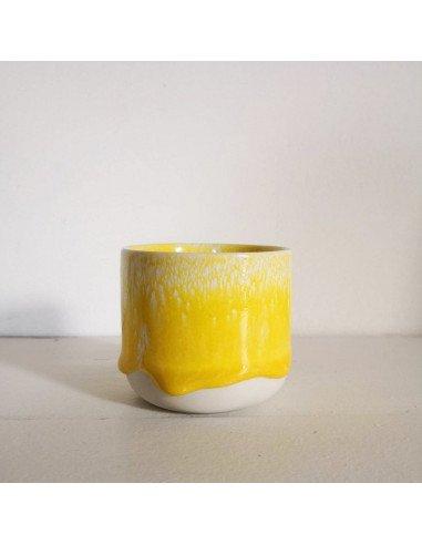 STUDIO ARHOJ sip cup Tasse expresso coloris rayon de soleil jaune