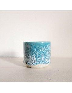 STUDIO ARHOJ sip cup Tasse expresso coloris niagara bleu turquoise