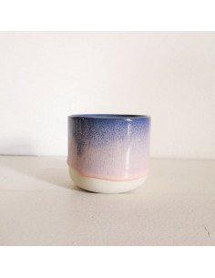 STUDIO ARHOJ sip cup Tasse expresso coloris ocean flamingo rose mauve