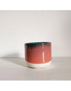 STUDIO ARHOJ sip cup Tasse expresso coloris cobra rouille vert