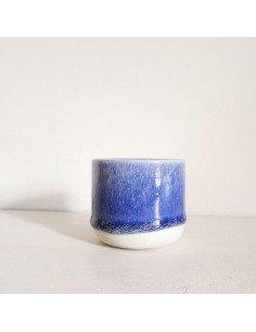 STUDIO ARHOJ sip cup Tasse expresso coloris loch ness bleu outremer
