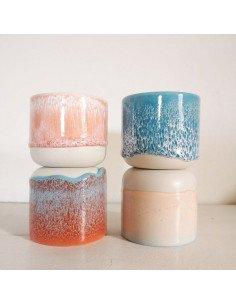 STUDIO ARHOJ sip cup Tasse expresso coloris saumon