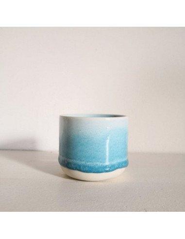 STUDIO ARHOJ sip cup Tasse expresso coloris bleu turquoise des mers du sud
