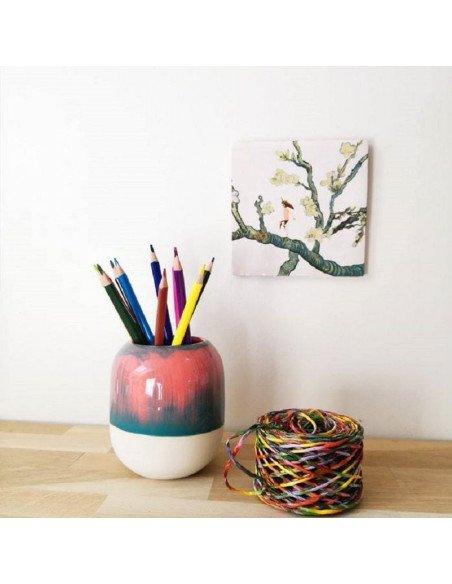 STUDIO ARHOJ Pot à crayons amazonie