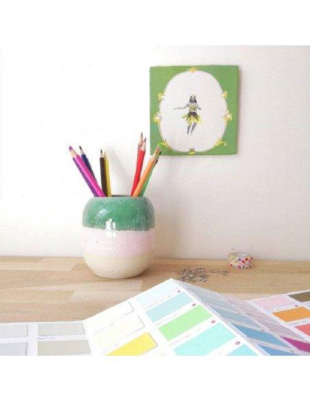 STUDIO ARHOJ Pot à crayons bambou