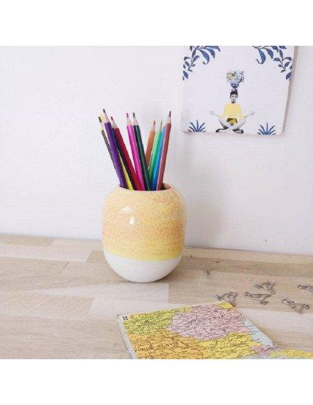 STUDIO ARHOJ Pot à crayons banane