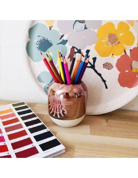 STUDIO ARHOJ Pot à crayons cuivre
