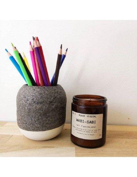 STUDIO ARHOJ Pot à crayons scorie