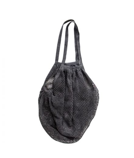URBAN NATURE CULTURE Sac filet pêcheur coloris anthracite