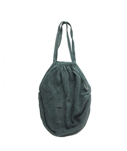 URBAN NATURE CULTURE Sac filet pêcheur coloris vert sapin