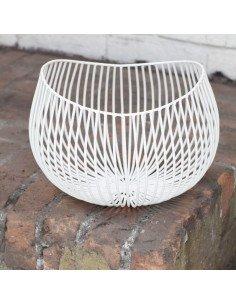 Serax corbeille metal blanc gio design antonino sciortino