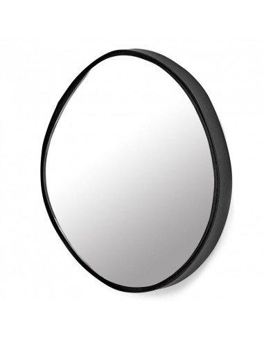 SERAX Miroir A rond à accrocher metal laqué noir marie michielssen