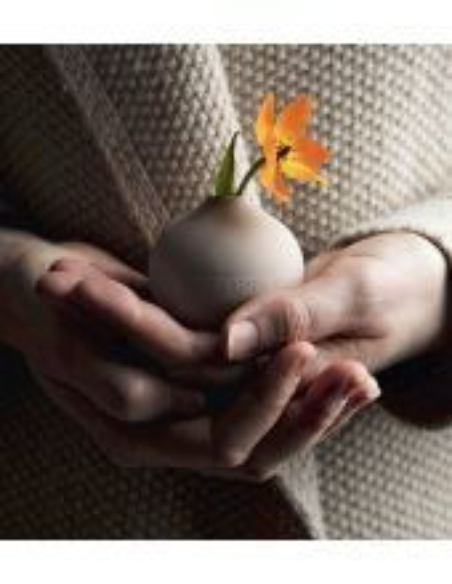 RÄDER DESIGN Mini vase perles grège