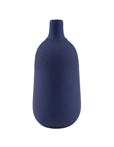 RÄDER DESIGN Mini vase perles bleu nuit