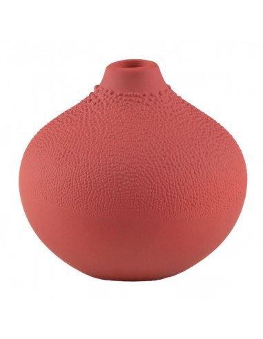 RÄDER DESIGN Mini vase perles coloris brique