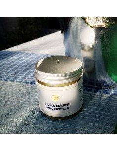 CIMENT PARIS Huile solide universelle cosmétiques bio zéro déchet