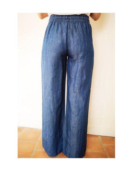 Pantalon femme large Emma