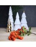 RÄDER décoration noël Forêt enchantée dorée porcelaine blanche