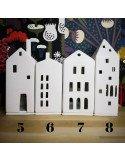 Räder Design | Photophore maison porcelaine blanche bougie