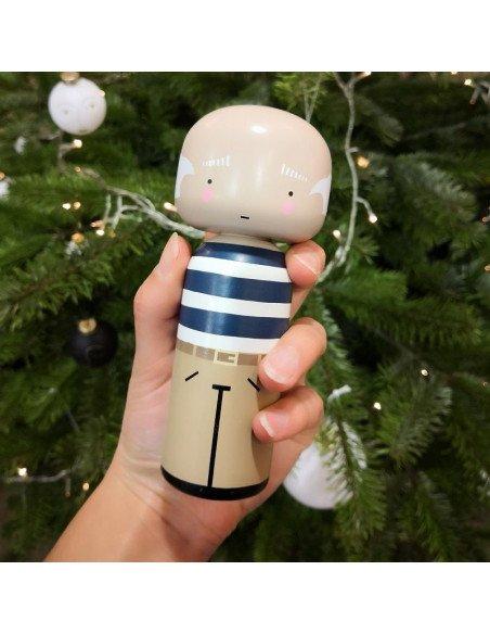 LUCIE KASS Figurine en bois Kokeishi Pablo