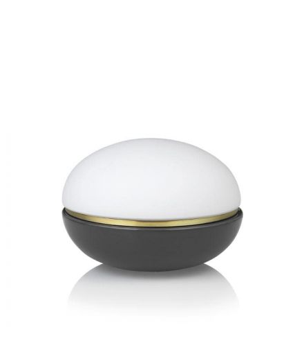 LUCIE KAAS Design Christian Troels lampe Macaron coloris dark grey à variateur