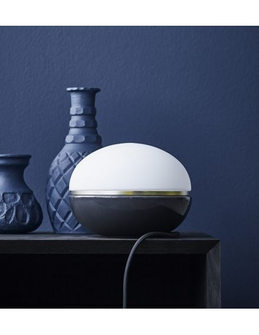 LUCIE KASS Design Christian Troels lampe Macaron coloris dark grey à variateur
