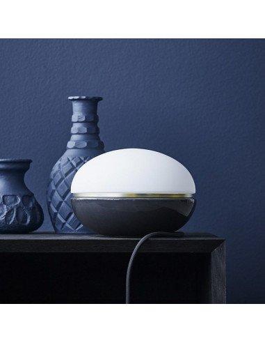 LUCIE KAAS Design Christian Troels lampe Macaron coloris dark grey à variateur