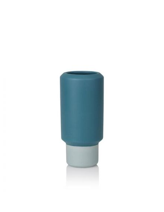 LUCIE KAAS Design Christian Troels petit vase fumario bleu