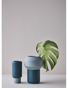 LUCIE KASS Design Christian Troels petit vase fumario bleu