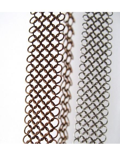 Collier sautoir metal design cuivre