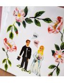 STORYTILES Carreau de céramique faince murale hollande amsterdam she said yes mariage mariés