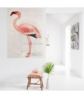 IXXI Tableau Flamant Rose de C.Finch-Davies