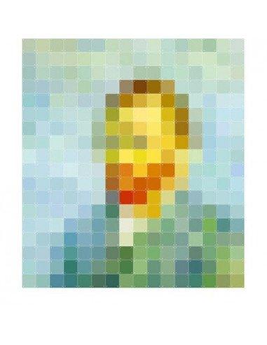 IXXI Décoration murale Pixel Van Gogh XXL