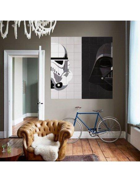 IXXI Décoration murale Stormtrooper / Dark Vador