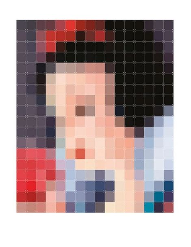 IXXI Pixel Décoration murale Blanche Neige Snow White XXL
