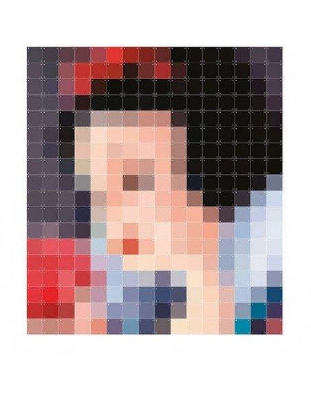 IXXI Décoration murale Pixel Blanche Neige XXL