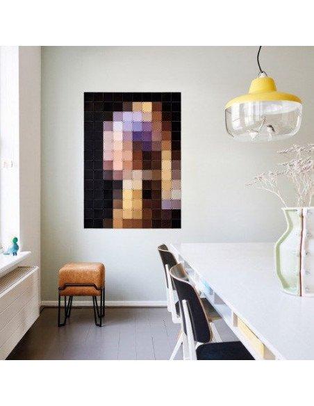 IXXI Décoration murale Pixel La jeune fille à la perle