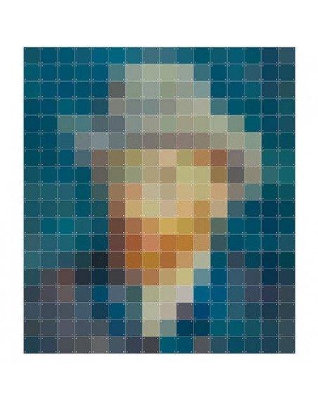 IXXI Tableau Pixel Van Gogh petrol