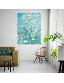 IXXI myworld Tableau Pixel Vincent Van Gogh amandiers en fleurs