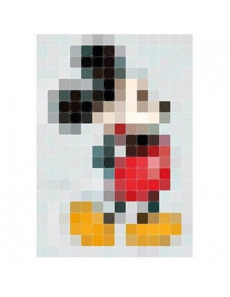 IXXI Décoration murale Pixel Mickey XXL