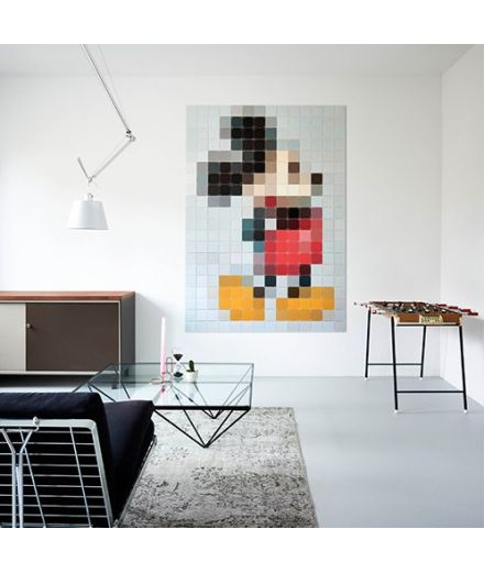 IXXI Décoration murale Pixel Mickey Mouse XXL
