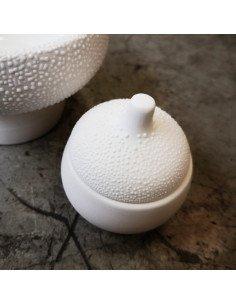 Räder decoration grès blanc mini boite perles petit modèle