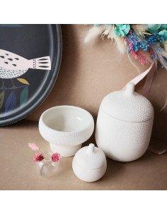 Räder decoration grès blanc boite perles