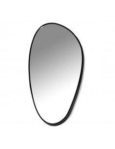 SERAX Miroir D ovale à accrocher metal laqué noir marie michielssen