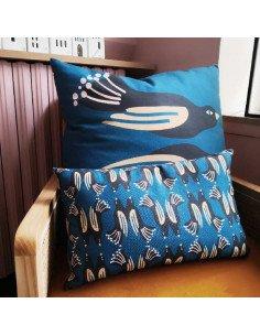 Oiseaux Muses Design Housse de coussin rectangle Oiseaux 40x38