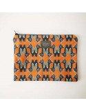 OISEAUX MUSES Trousses pochette zip Oiseaux coton