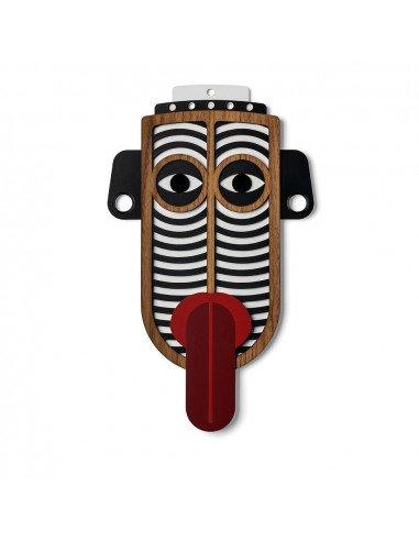 UMASQU Masque moderne africain bois chili mask #3