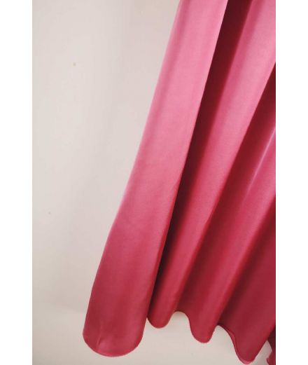 Johanna Paris - Jupe maxi Satine rose
