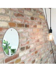 m nuance miroir sunrise ovale verticale petit deco tendance design contemporain extra plat